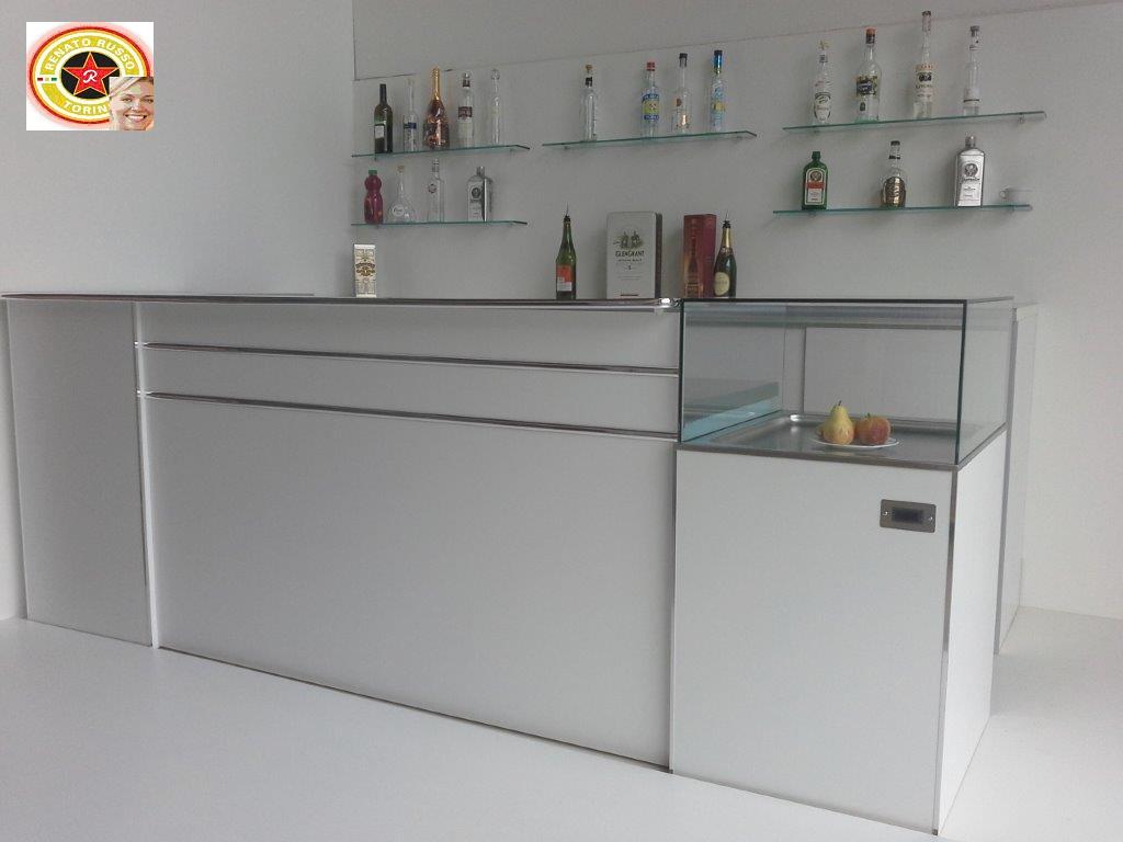 Banchi bar torino banchi frigo con lavello tramogge for Arredi bar usati